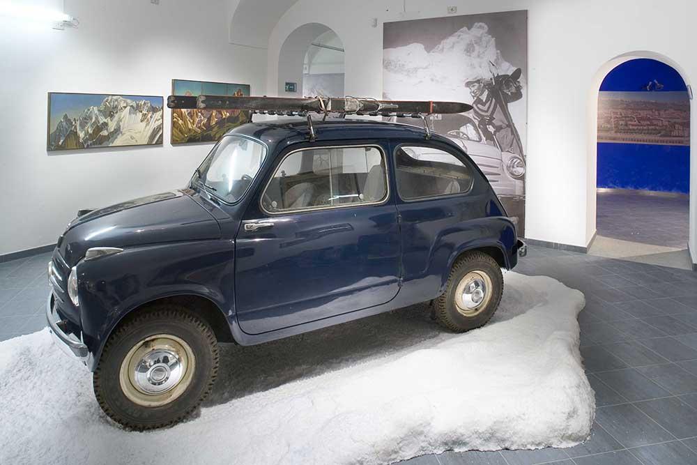 Alpi colle Moncenisio Museo MOntagna torino