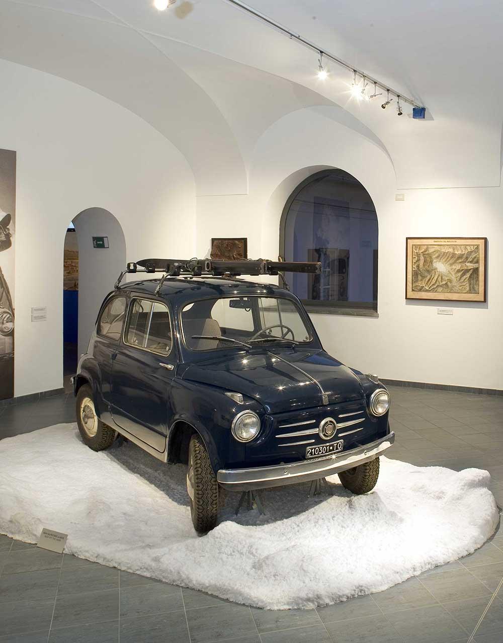 Colle del Moncenisio Museo della Montagna Torino
