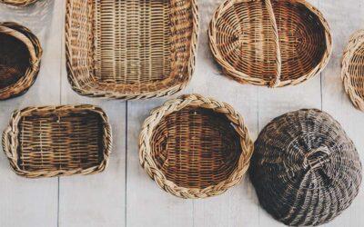 Intrecci di ieri e di oggi: corde, stuoie e ceste di varie forme
